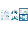 isometric businessmen successful leader vector image vector image