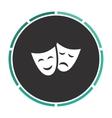 masks computer symbol vector image