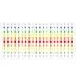 death scytheman shape halftone spectral effect vector image