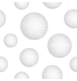Golf ball background vector image vector image
