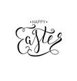 hand drawn elegant modern brush lettering happy vector image