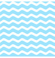 marine seamless pattern with wavy sea vector image