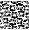 seamless black and white stamp pattern with vector image