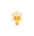 team idea logo icon design vector image