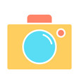video camera silhouette icon cinema pictogram vector image vector image
