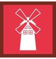 windmill farm building icon