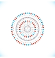 circle element for tribal style vector image