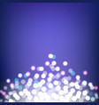 colorful bokeh and lights abstract background vector image