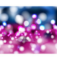 abstract bokeh vision pink background design ii vector image vector image
