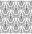 abstract minimalistic seamless pattern vector image