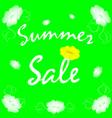 banner summer sale vector image vector image