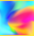 bright abstract colorful zen harmony background vector image