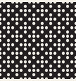 dotted seamless pattern modern stylish abstract vector image