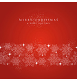 Merry Christmas snowflakes decorations elements vector image vector image