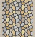 seamless terrazzo stone pattern vector image