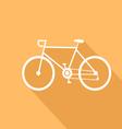 Sport bike of a flat design vector image vector image