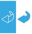 turn icon arrow restart vector image vector image