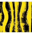Black yellow grunge background vector image