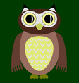 cartoon owl image vector image