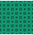 Green pattern with rectangles vector image vector image