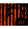 halloween grange stripe background with place for vector image vector image