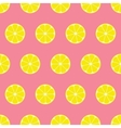 Lemon Seamless Background vector image vector image