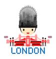 London England Travel Landmarks vector image