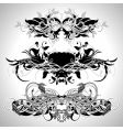ornamental set vector image