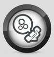 technical assistance icon vector image