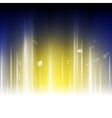 Bright abstract shiny background vector image vector image