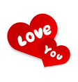 Love you forever vector image vector image