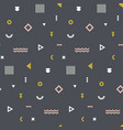 memphis seamless pattern repetitive print vector image vector image