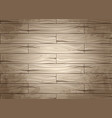 realistic seamless texture wood planks vector image