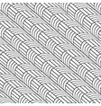 stylish black and white line curve graphic pattern vector image vector image