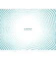 abstract sea waves pattern circle presentation vector image