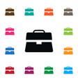 isolated document case icon portfolio vector image