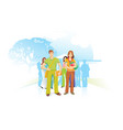 people for the environment vector image vector image