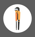 pliers icon working hand tool equipment concept vector image vector image
