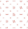 urban icons pattern seamless white background vector image vector image