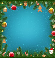 xmas holliday poster vector image vector image
