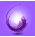 Abstract purple background with light