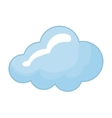 blue cloud icon Weather design graphic vector image vector image