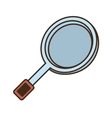 cartoon pan cooker kitchen design vector image