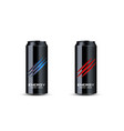 energy drink 3d advertising vector image