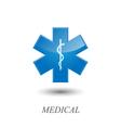 Medical symbol vector image
