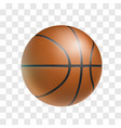 basketball ball isolated icon vector image