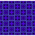 Blue pattern with a tile vector image