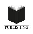 book logo vector image vector image