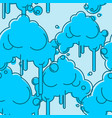 cloud seamless pattern sky background abstract vector image vector image