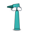 crying otoscope mascot cartoon style vector image